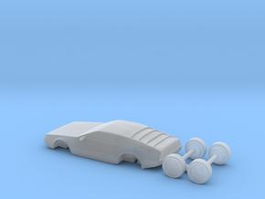 Dmc-12 DeLorean HO Scale 1:87 in Smoothest Fine Detail Plastic