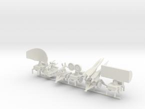 1/200 Scale HAWK Missile Unit in White Natural Versatile Plastic