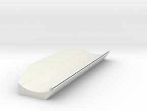1/50 Cat D6t Lgp Angle Blade in White Natural Versatile Plastic
