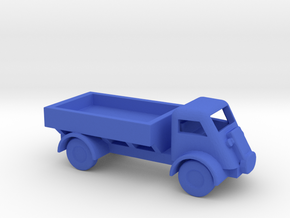 1/144 Scale Bedford QL Truck in Blue Strong & Flexible Polished