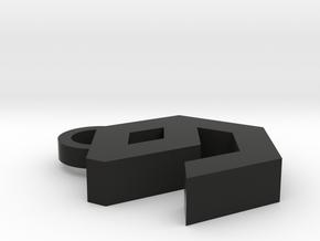 9Gag Key Chain in Black Strong & Flexible