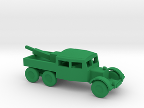 1/144 Scale Scammel Wrecker in Green Strong & Flexible Polished