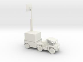 1/144 Scale M561 Gama Goat Radar in White Natural Versatile Plastic