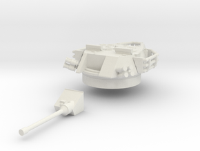 ASLAV-25 TYPE 1 Turret(1:56 Scale) in White Natural Versatile Plastic