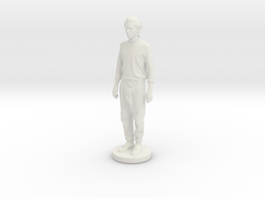 Printle C Homme 007 - 1/24 in White Strong & Flexible