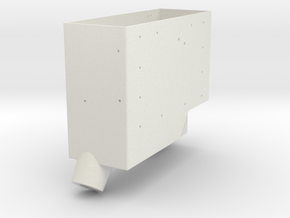 Apollo RCU Box Base in White Natural Versatile Plastic