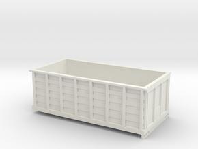 1/64 16 Foot Omaha Standard / Giant Grain Bed in White Natural Versatile Plastic