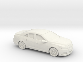 1/87 2013-Present Chevrolet Malibu in White Strong & Flexible