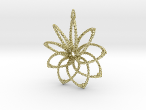 Cluster Funk 9 Points - 5cm, Loopet in 18K Gold Plated