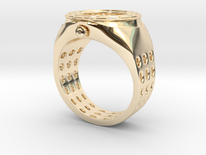 Watch Rings in 14K Yellow Gold: 7 / 54