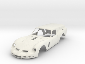 Ferrari 250 swb Breadvan - Kit 01 Scale 1/8 in White Natural Versatile Plastic