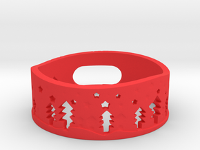 Amazon Dot Christmas Case in Red Processed Versatile Plastic