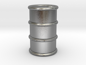 Power Grid Oil Barrels - One Barrel in Natural Silver