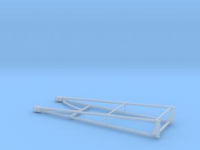 Wheelie Bar Dual in Smooth Fine Detail Plastic