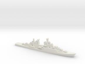 Hamburg-class destroyer, 1/1800 in White Natural Versatile Plastic