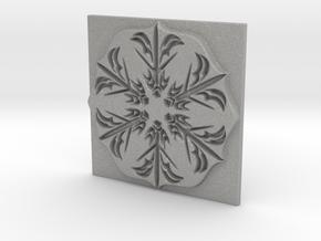 Snowflake in Aluminum: Extra Large
