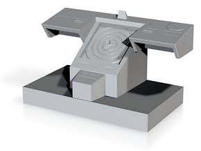 Bridge Console, 28mm Scale in White Natural Versatile Plastic