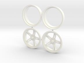 MoonStar Front 1/12 in White Processed Versatile Plastic