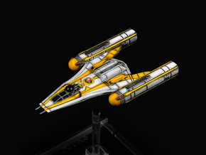 R5 Clone Wars Y-wing Variant 1/270 in Smoothest Fine Detail Plastic