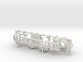 1/50th Cone Crusher Aggregate Trailer in White Natural Versatile Plastic