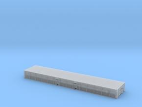 1:87 2 X 40 Plattform Container Metallboden in Smooth Fine Detail Plastic