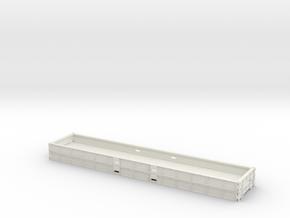 2x 40 Ft Plattform Container mix ohne Querstreben in White Natural Versatile Plastic