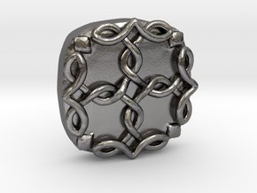 Count Dooku Clasp pieces (ORDER TWO) in Polished Nickel Steel