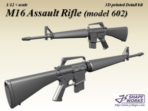 1/9 M16 Assault rifle (model 602) in Smoothest Fine Detail Plastic