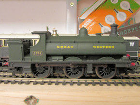 GWR Saddle Tank Body For Std Hornby 0-6-0 in White Strong & Flexible