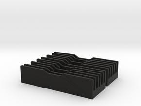 Shoretrooper Chin Detail Set (V1) in Black Natural Versatile Plastic