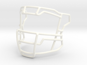 Live Mask Speed Flex (Savage Style)  for Speed Min in White Processed Versatile Plastic