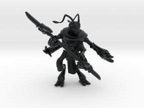 Thrikreen Soldier in Black Hi-Def Acrylate