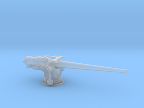 1/144 USN 5''/ 51 Cal. Deck Gun in Smooth Fine Detail Plastic