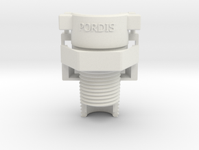 Breakaway 0.5 NPT Pipe Adapter AFP3 in White Natural Versatile Plastic