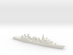 Bremen-class frigate, 1/1800 in White Natural Versatile Plastic