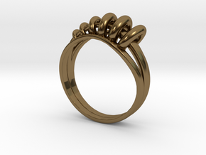 Ring of Rings in Polished Bronze: 8 / 56.75