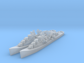 Atlanta class cruiser in Smooth Fine Detail Plastic