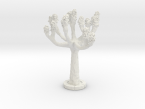 ONA04 Tree in White Natural Versatile Plastic