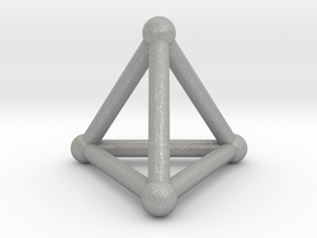 0277 Tetrahedron V&E (S&B) (a=10mm) in Aluminum