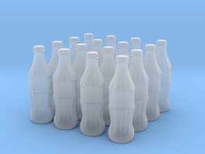 1/22 scale Cola bottles in Smoothest Fine Detail Plastic