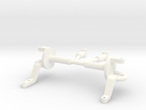 Spindles & hangers drop axle 1/8 in White Processed Versatile Plastic