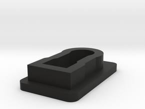 Colt 38 Special wadcutter Magazine Loading Device in Black Natural Versatile Plastic