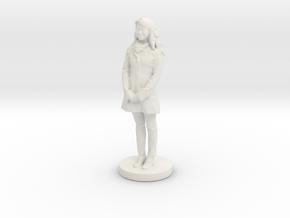 Printle C Femme  010- 1 /24 in White Natural Versatile Plastic