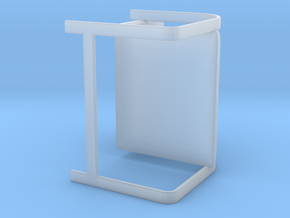 Brno Chair in Smooth Fine Detail Plastic: Large