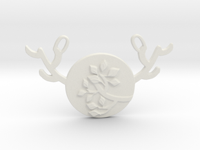 Horned Moon Summer by ~M. in White Natural Versatile Plastic
