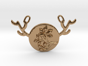 Horned Moon Summer by ~M. in Polished Brass