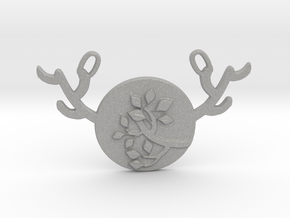 Horned Moon Summer by ~M. in Aluminum