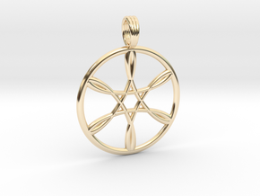 GUIDING LIGHT in 14K Yellow Gold