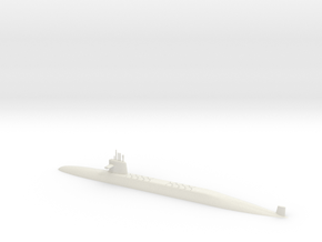 1/500 Le Triomphant Class SSBN (Waterline) in White Strong & Flexible