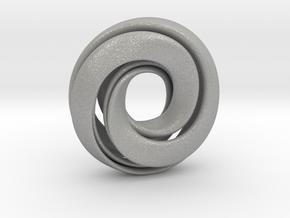 Singularity Mobius Sliced in Aluminum
